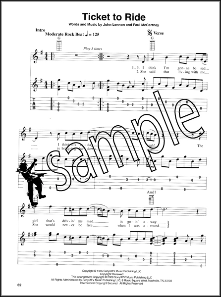 Banjo u00bb Banjo Tabs Beatles - Music Sheets, Tablature, Chords and Lyrics