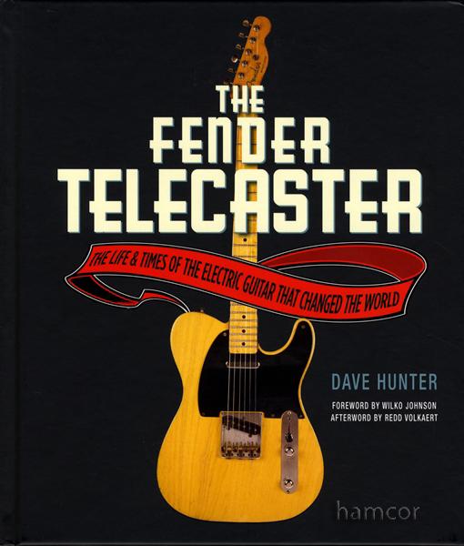 the fender telecaster hardback dave hunter electric guitar book ebay. Black Bedroom Furniture Sets. Home Design Ideas