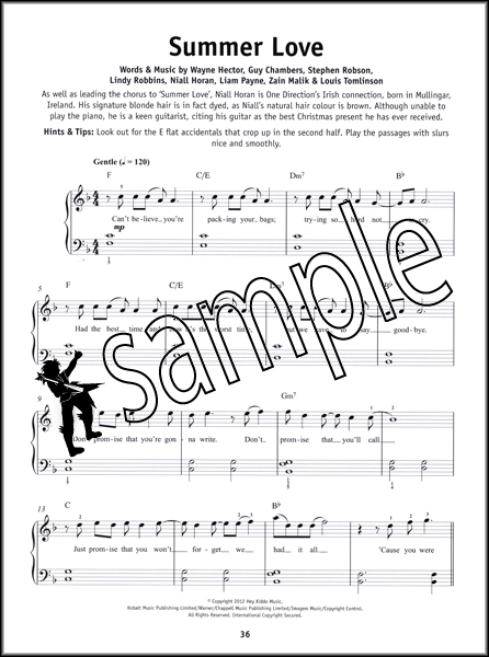 you and i one direction piano sheet music pdf
