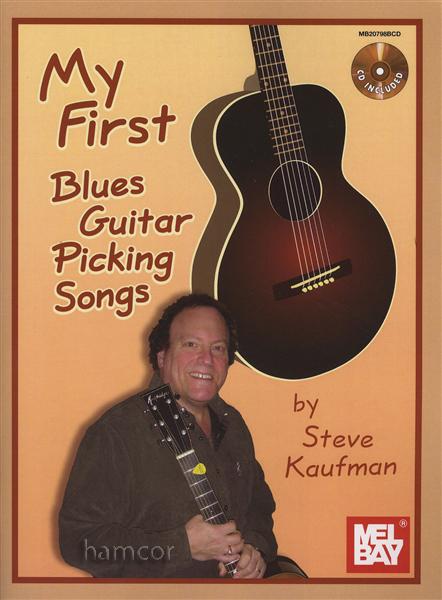 my first blues guitar picking songs steve kaufman book cd acoustic fingerpicking ebay. Black Bedroom Furniture Sets. Home Design Ideas