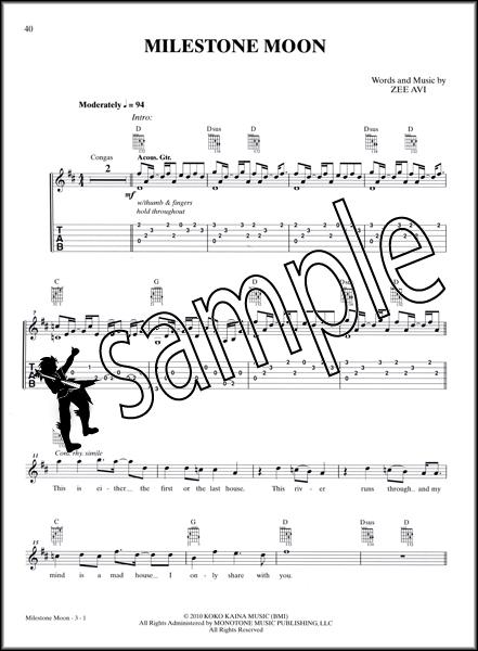 Zee Avi Guitar Songbook TAB Edition Music Book : eBay