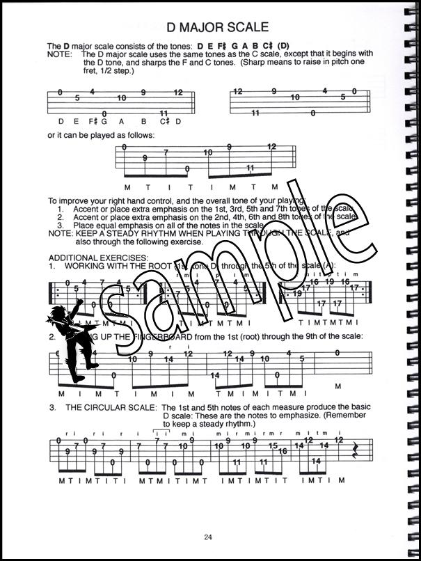 Banjo Scales in TAB 5-String Banjo Scales u0026 Exercises Book/CD by Janet Davis