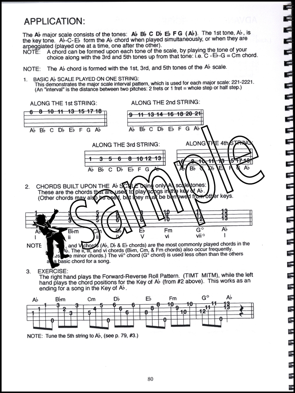 Banjo Scales in TAB 5-String Banjo Scales u0026 Exercises Book/CD by Janet Davis
