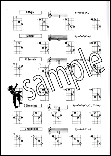 Tenor Banjo Chord Encyclopedia : Hamcor