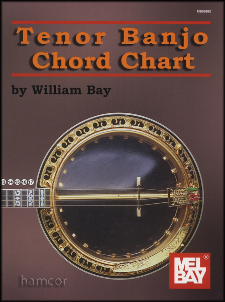 Tenor Banjo Chord Chart 4-String Banjo Enlarged Preview