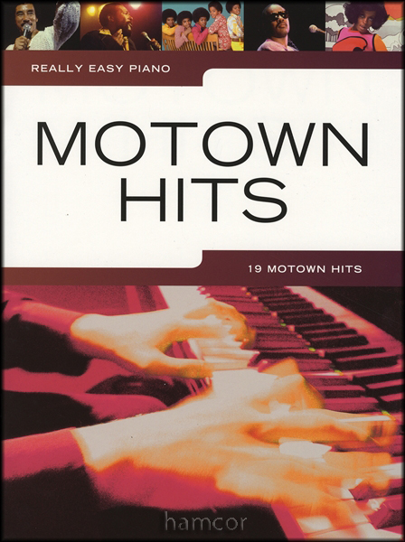 Really Easy Piano Motown Hits Sheet Music Book Pop Soul 60's Enlarged Preview