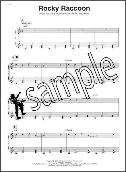 The Beatles for Folk Harp Sheet Music Book : eBay