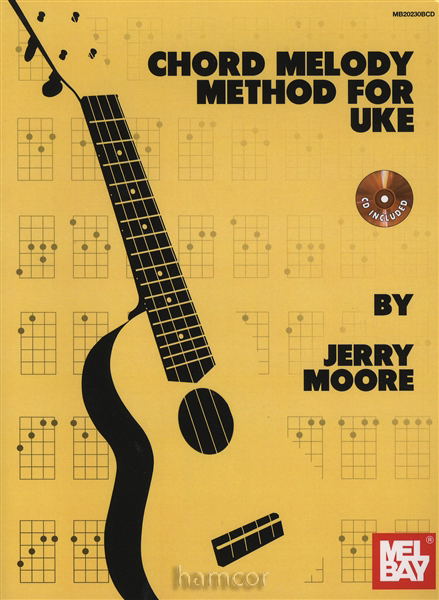 Chord Melody Method for Uke Learn to Play Ukulele Book CD Jerry Moore : eBay
