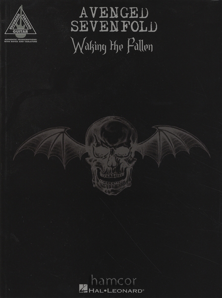 Avenged Sevenfold Waking The Fallen Guitar Recorded Versions TAB Music Book Enlarged Preview