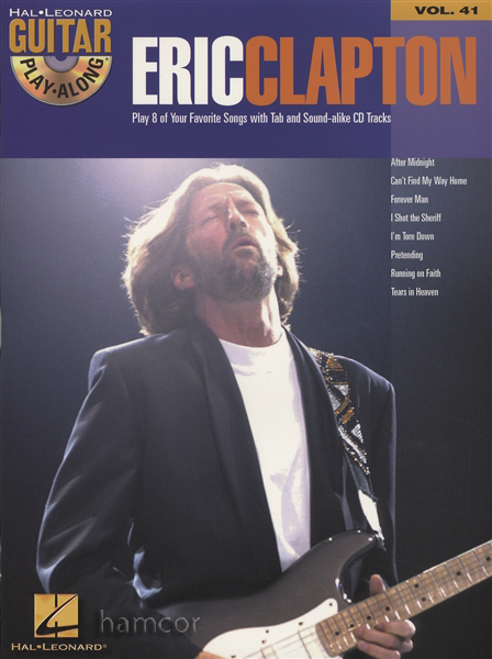 eric clapton guitar play along volume 41 tab music book with backing tracks cd ebay. Black Bedroom Furniture Sets. Home Design Ideas