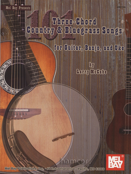 101 three chord country bluegrass songs for guitar banjo ukulele songbook ebay. Black Bedroom Furniture Sets. Home Design Ideas