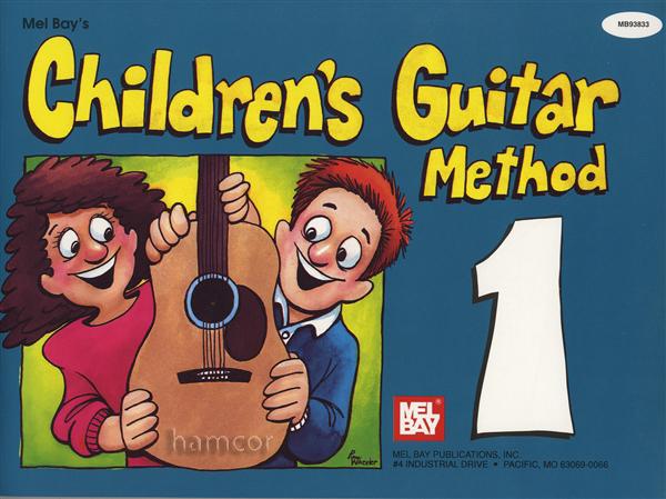 children 39 s guitar method 1 learn how to play beginner book for kids. Black Bedroom Furniture Sets. Home Design Ideas