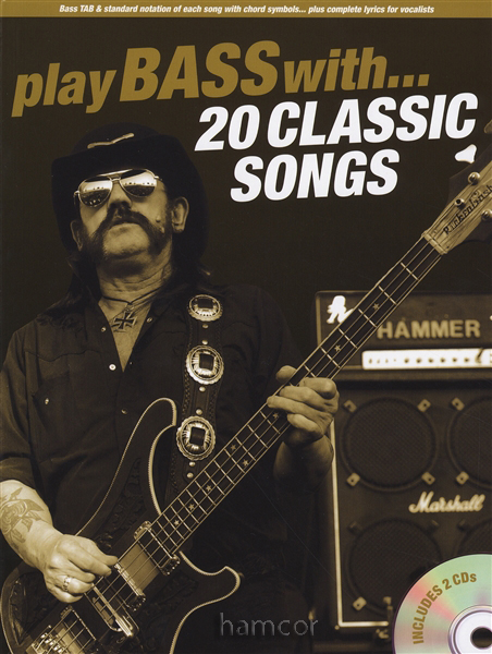 play bass guitar with 20 classic songs tab book play along backing tracks cd ebay. Black Bedroom Furniture Sets. Home Design Ideas