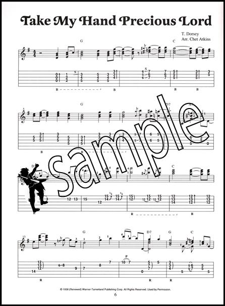 Chet Atkins Plays Back Home Hymns Guitar TAB & Music