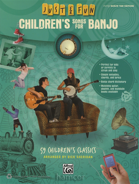 Just for Fun Children's Songs for Banjo Easy TAB & Chord ...