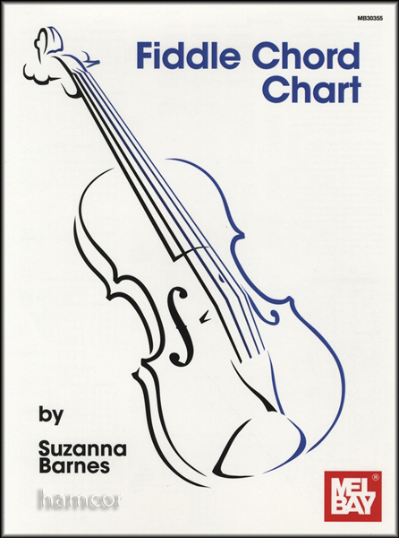 Fiddle Chord Chart Violin Enlarged Preview