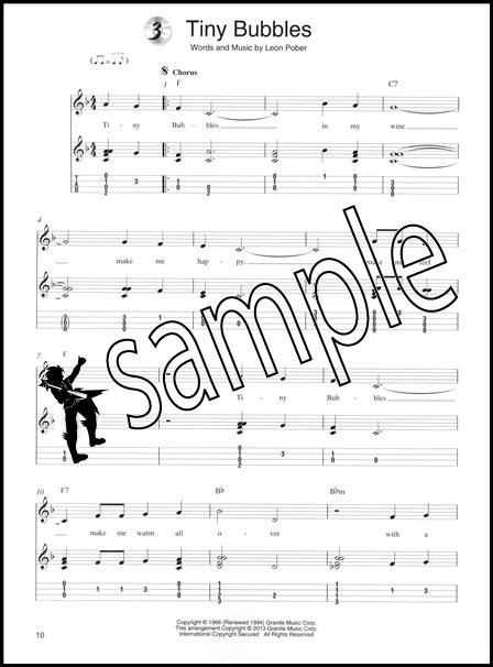 Ukulele Chord Melody Solos TAB Music Book/CD : eBay