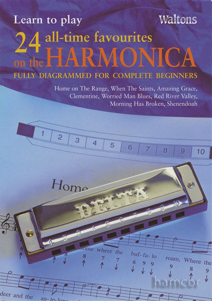 Learn to Play 24 All Time Favourites on the Harmonica Beginners Music Book : eBay