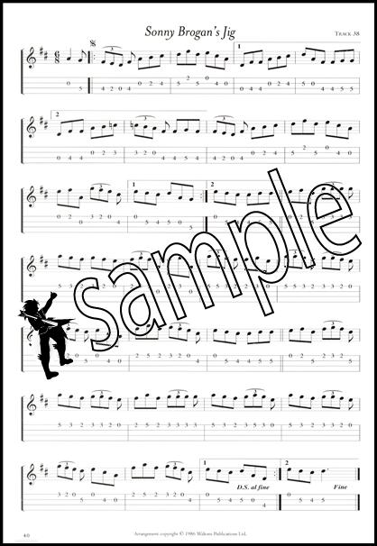 50 Solos for Irish Tenor Banjo 4-String TAB Music Book Tablature ...