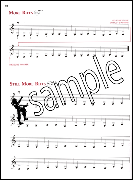 Basic rock guitar method 1 music book dvd cd learn how to play method