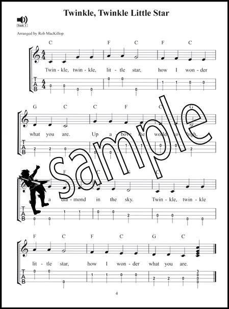 20 Popular Uke Tunes for Kids Ukulele TAB Music Book/CD Childrenu0026#39;s Songs : eBay