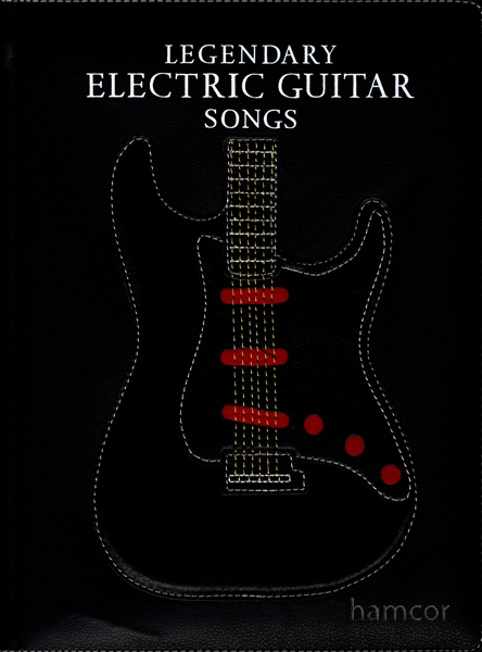 legendary electric guitar songs tab music book in presentation box ebay. Black Bedroom Furniture Sets. Home Design Ideas