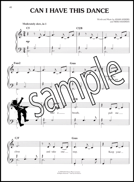 high school musical songs for piano: