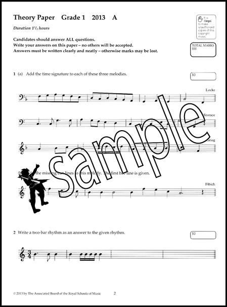 Image Result For Abrsm Grade Music Theory Past Papers Free Download