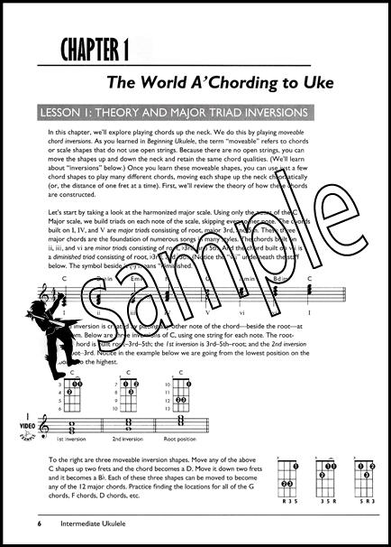 Intermediate Ukulele The Complete Ukulele Method TAB Music Book/DVD : eBay
