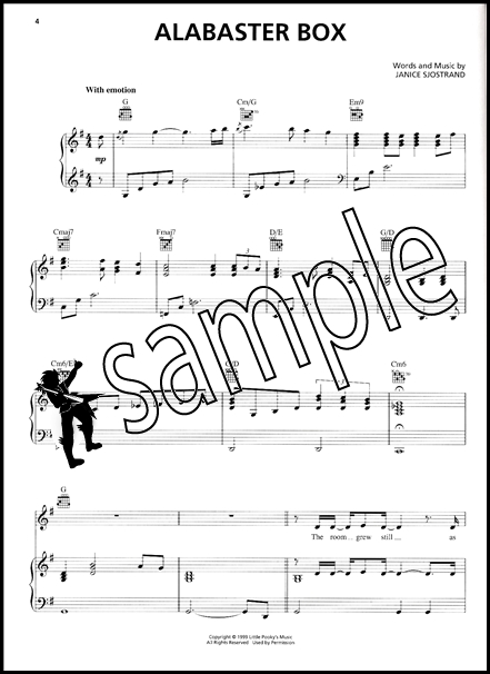 The Best Of Cece Winans Piano Vocal Guitar Sheet Music