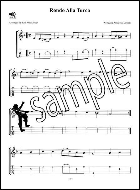 20 Easy Classical Uke Pieces for Kids Ukulele TAB Music Book/CD : eBay