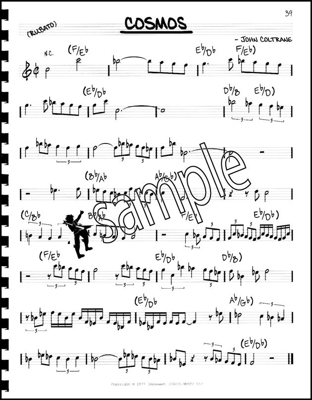john coltrane impressions transcription pdf