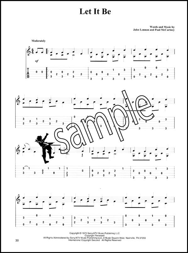 Marty Schwartz - Easy Songs on Acoustic Guitar - Beatles ...
