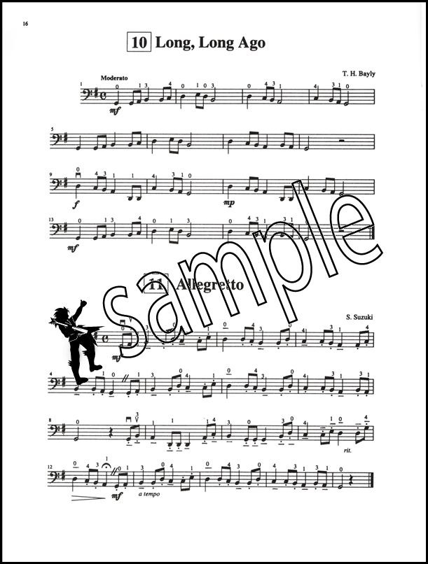 Suzuki Cello School Volume 1 Music Book/CD Learn How to Play Beginner ...