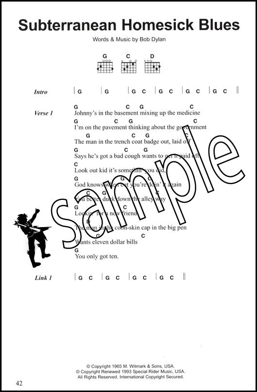 Best Dylan Chord Songbook Guitar - Gli stili del potere.pdf