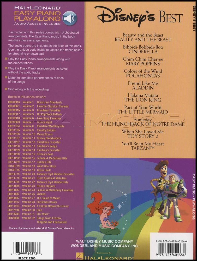 disney piano sheet music book pdf
