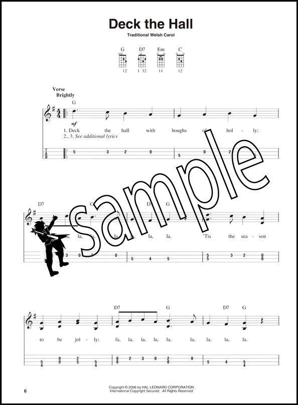 Christmas Carols for Mandolin TAB Music Book : eBay
