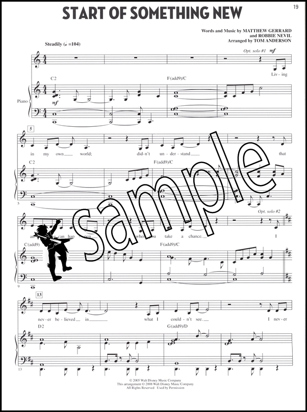 high school musical piano sheet music pdf