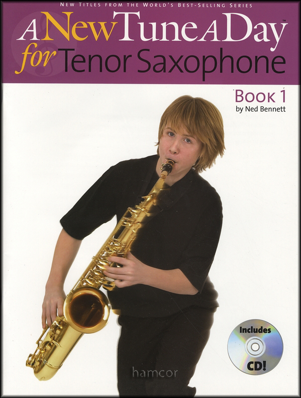 a new tune a day for tenor saxophone 1 book cd learn how to play beginner method ebay. Black Bedroom Furniture Sets. Home Design Ideas