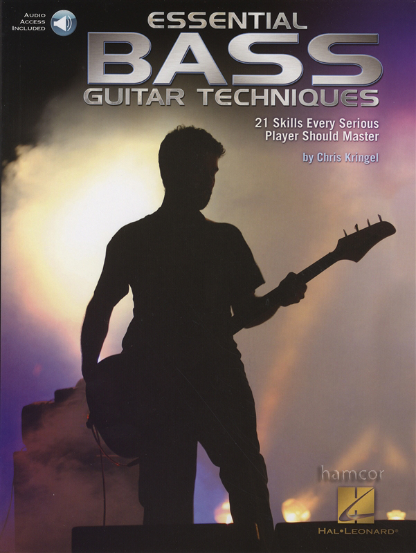 essential bass guitar techniques tab music book with audio download. Black Bedroom Furniture Sets. Home Design Ideas