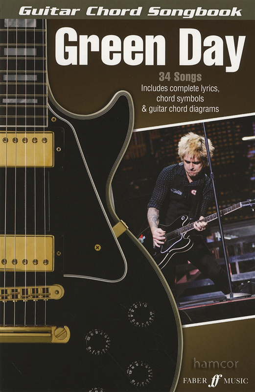 Green Day Guitar Chord Songbook : eBay
