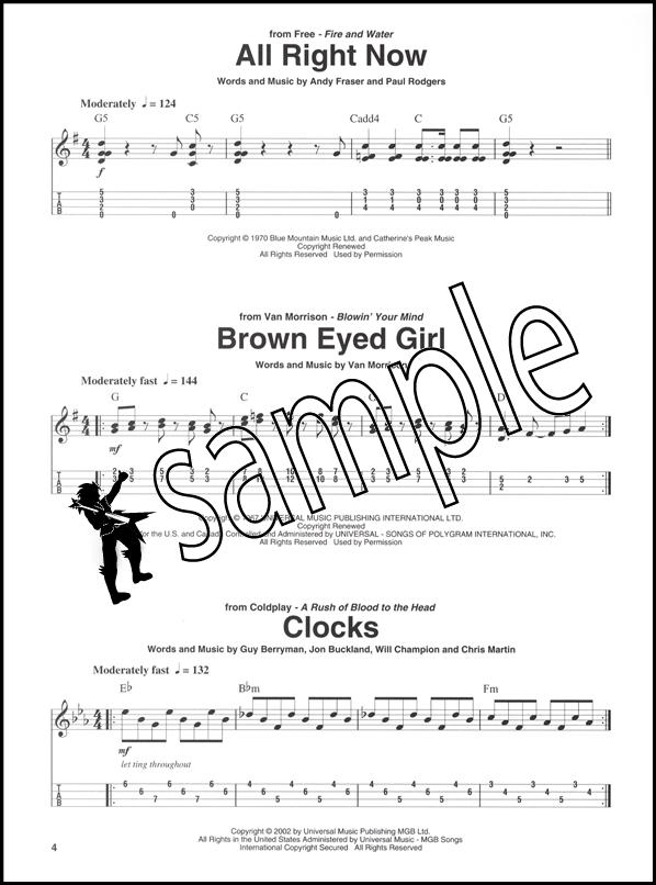 Rock Riffs for Ukulele with TAB Music Book : eBay
