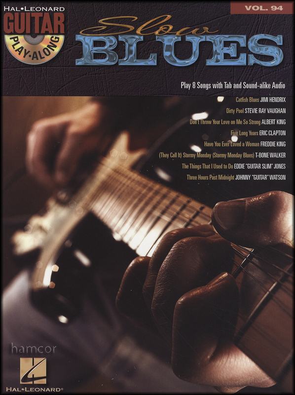 slow blues guitar play along tab music book backing tracks cd ebay. Black Bedroom Furniture Sets. Home Design Ideas