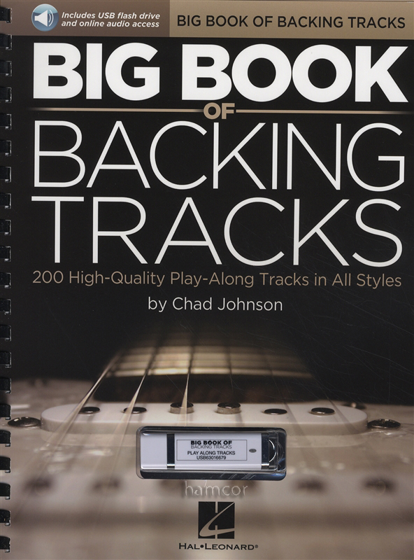 big book of backing tracks guitar music book usb dlc 200 play along tracks ebay. Black Bedroom Furniture Sets. Home Design Ideas