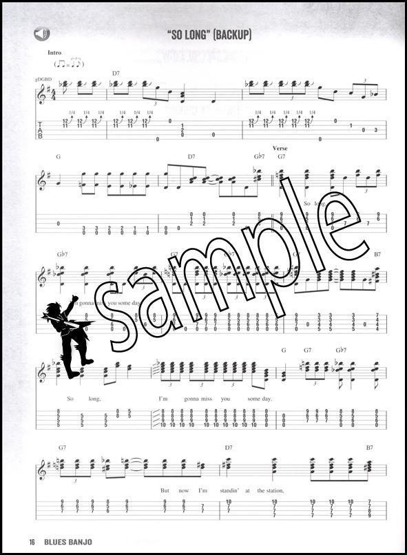 Blues Banjo 5-String TAB Music Book/DLC Audio Access Lessons Riffs Licks Songs : eBay
