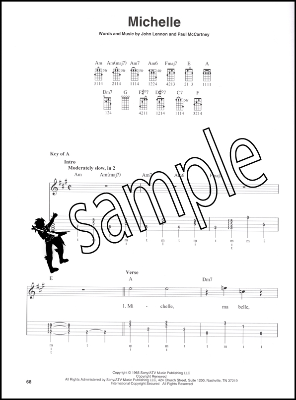 The Beatles Banjo TAB : Hamcor