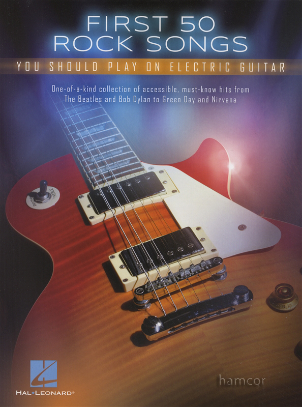first 50 rock songs you should play on electric guitar tab music chord songbook ebay. Black Bedroom Furniture Sets. Home Design Ideas