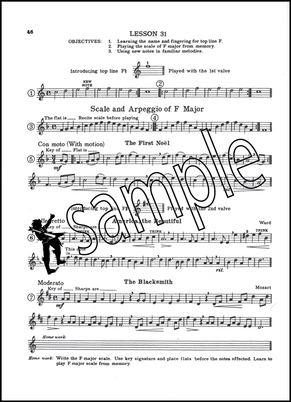 Tips for beginners - Trumpet exercise database