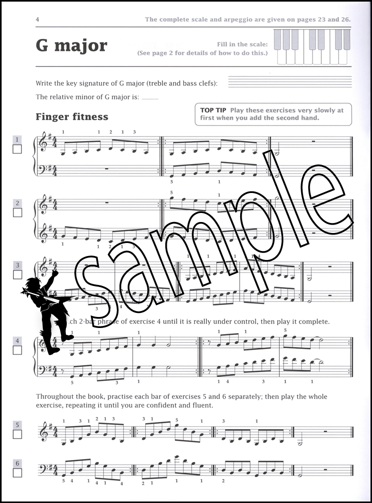 Piano: Grade 1 (Improve Your Scales!), Harris, Paul, Used; Very Good Book