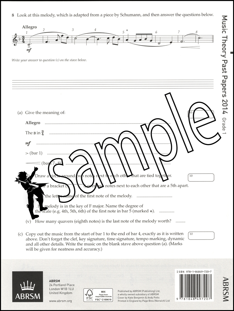 abrsm grade 1 theory past papers pdf